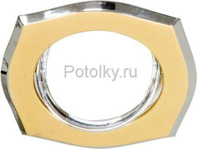 Купить Светильник потолочный, MR16 G5.3 золото-хром, A246 в Москве и области