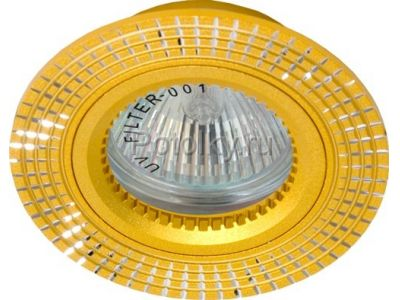 Купить Светильник потолочный, MR16 G5.3 золото, GS-M369G в Москве и области