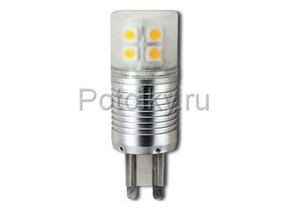 Купить Светодиодная лампа G9 4.1W 2800K в Москве и области