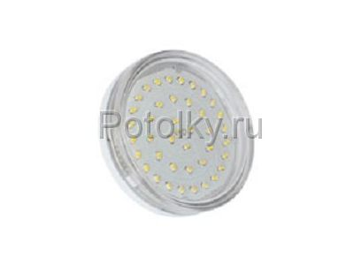 Купить Светодиодная лампа GX53 2800K 4.2W прозрачное стекло в Москве и области