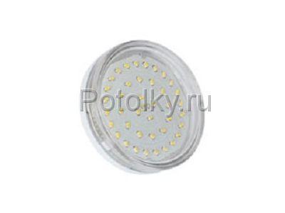 Купить Светодиодная лампа GX53 4200K 4.2W прозрачное стекло в Москве и области