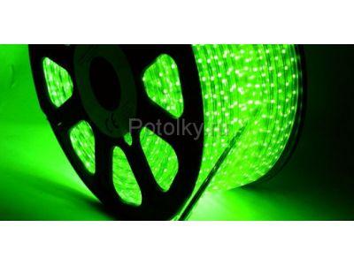 Купить LED лента LUX, герметичная в силиконовой оболочке, 220V, 10*7 мм, IP65, SMD 3528, 60 диодов/метр, цвет светодиодов красный, бухта 100 метров (LED-ленты) в Москве и области