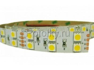 Купить Светодиодная лента SMD 5050, 600 Led, IP33, 24V, LUX (LED-ленты) в Москве и области