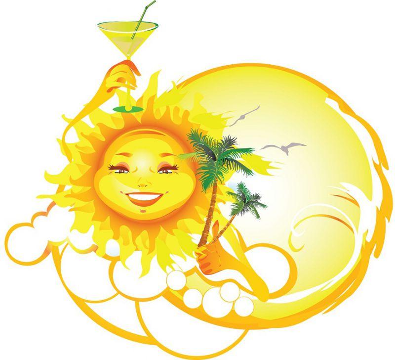 Праздником, лето солнце картинки для детей