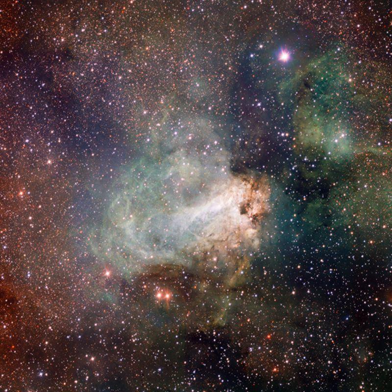 Фотопечать на натяжных потолках звездное небо
