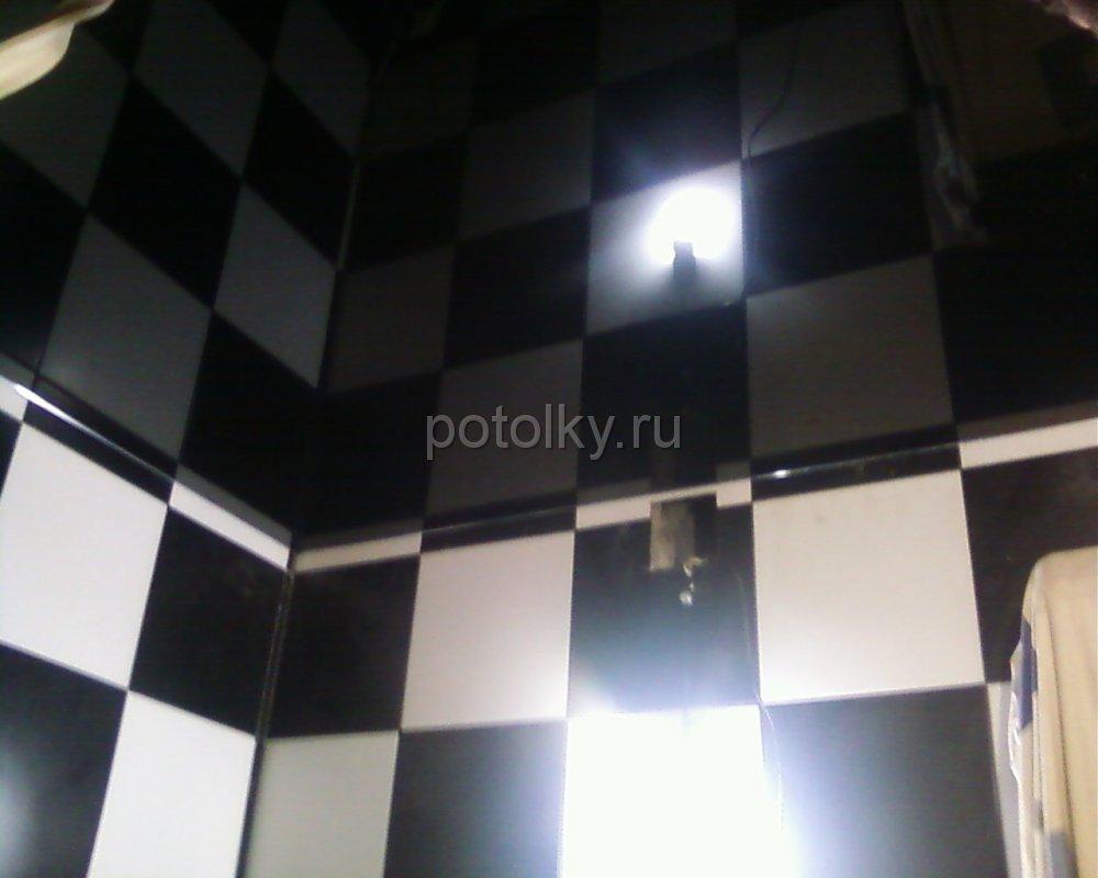 Побелка потолок в ванной