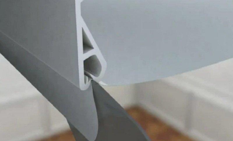 Тканевой натяжной потолок своими руками видео